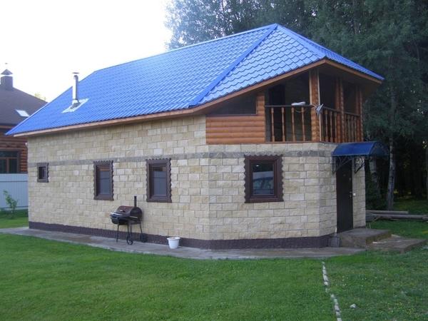 Дом 191 м2 на участке 44 сот. 3