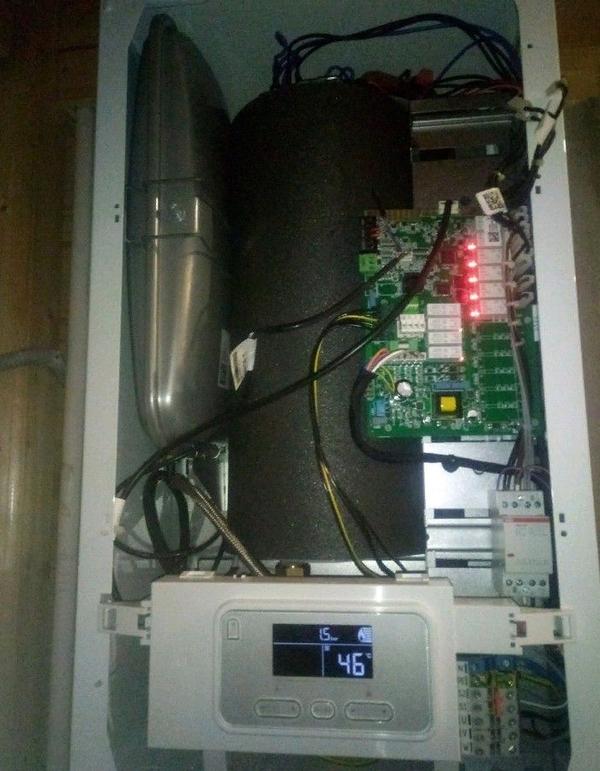 Ремонт настенных газовых,  электрических котлов отопления 4