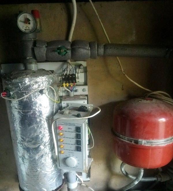 Ремонт настенных газовых,  электрических котлов отопления 5