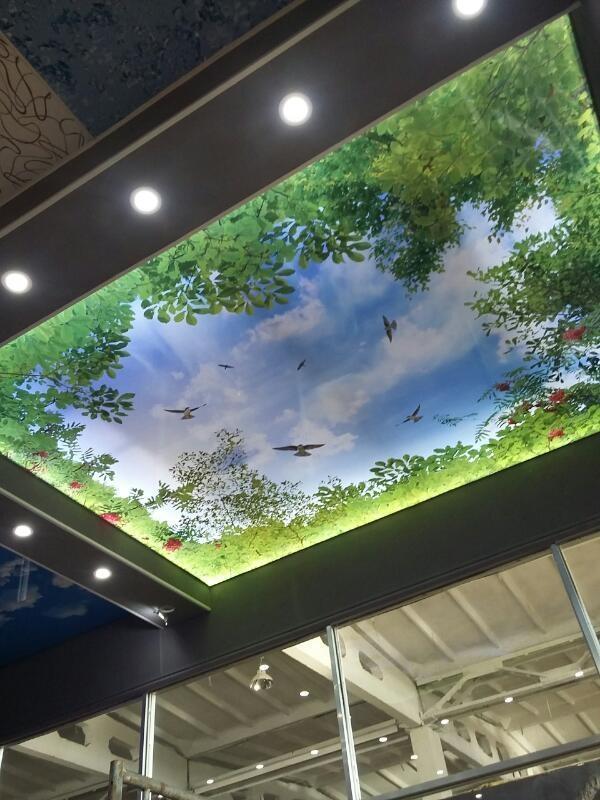 Натяжные потолки от компании Эксклюзив 6