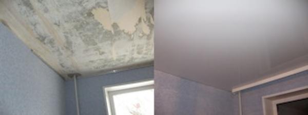 Натяжные потолки от компании Эксклюзив 5