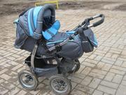 Продаю детскую коляску трансформер Неон Делюкс